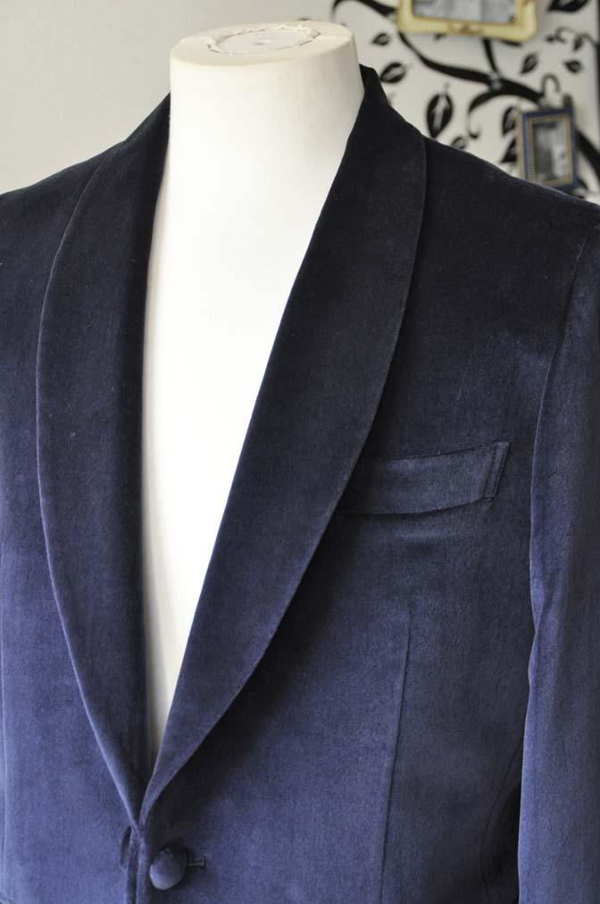 DSC0840-3 お客様のジャケットの紹介-DUGDALE ネイビーベルベットショールカラージャケット-DSC0840-3 お客様のジャケットの紹介-DUGDALE ネイビーベルベットショールカラージャケット- 名古屋市のオーダータキシードはSTAIRSへ