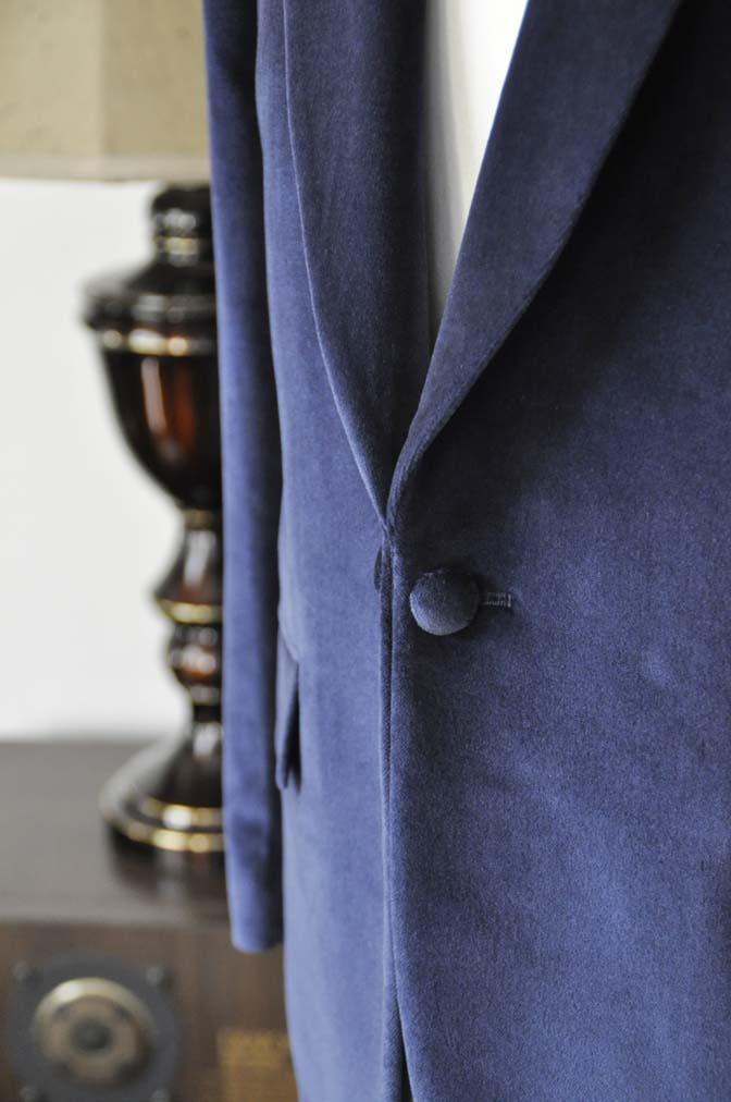 DSC0842-4 お客様のジャケットの紹介-DUGDALE ネイビーベルベットショールカラージャケット-DSC0842-4 お客様のジャケットの紹介-DUGDALE ネイビーベルベットショールカラージャケット- 名古屋市のオーダータキシードはSTAIRSへ