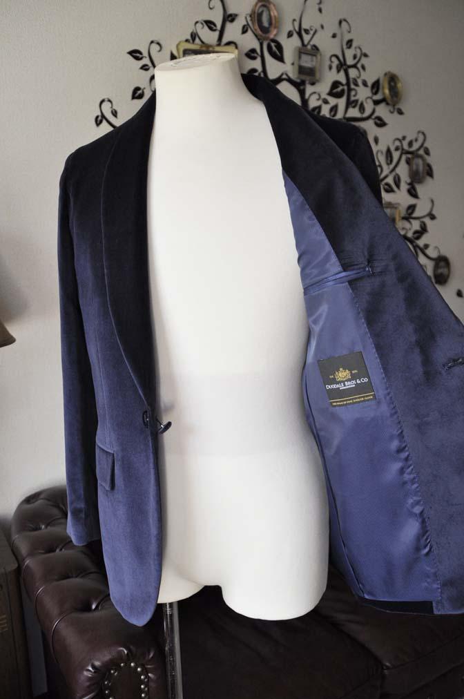 DSC0849-2 お客様のジャケットの紹介-DUGDALE ネイビーベルベットショールカラージャケット-DSC0849-2 お客様のジャケットの紹介-DUGDALE ネイビーベルベットショールカラージャケット- 名古屋市のオーダータキシードはSTAIRSへ