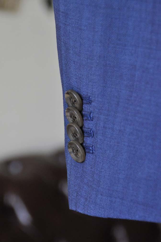 DSC1071-3 オーダータキシード(新郎衣装)の紹介-Biellesiネイビーヘリンボーンスーツ グレンチェックベスト-DSC1071-3 オーダータキシード(新郎衣装)の紹介-Biellesiネイビーヘリンボーンスーツ グレンチェックベスト- 名古屋市のオーダータキシードはSTAIRSへ