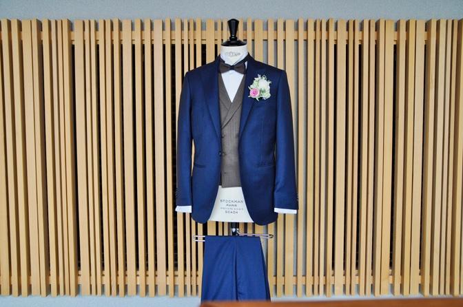 DSC1327 東急ホテル挙式 スーツスタイルDSC1327 東急ホテル挙式 スーツスタイル 名古屋市のオーダータキシードはSTAIRSへ