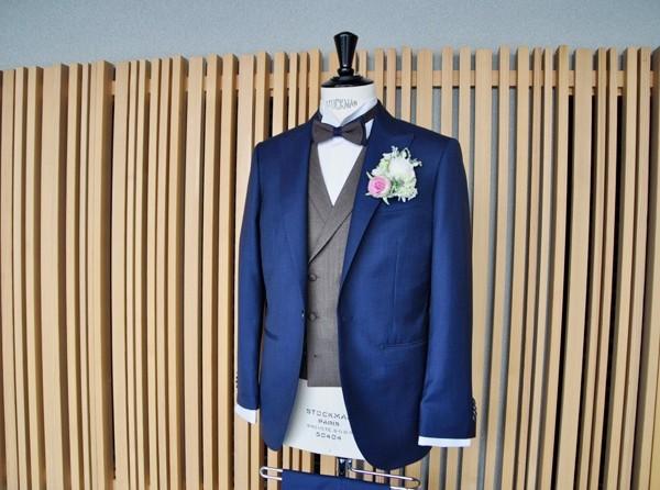 東急ホテル挙式 スーツスタイル