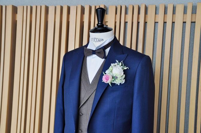 DSC1329 東急ホテル挙式 スーツスタイルDSC1329 東急ホテル挙式 スーツスタイル 名古屋市のオーダータキシードはSTAIRSへ