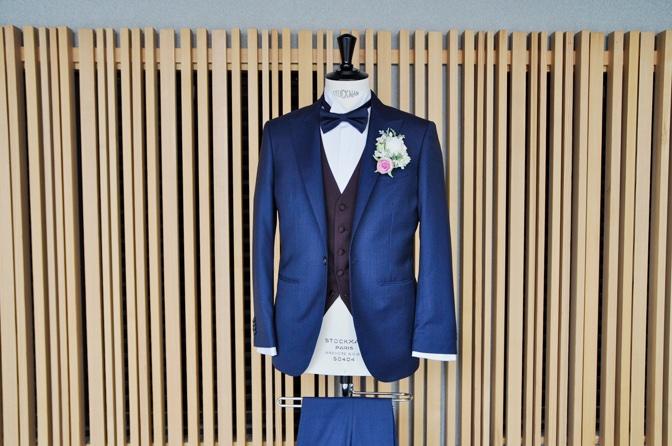 DSC1358 東急ホテル挙式 スーツスタイルDSC1358 東急ホテル挙式 スーツスタイル 名古屋市のオーダータキシードはSTAIRSへ