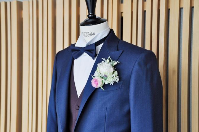 DSC1360 東急ホテル挙式 スーツスタイルDSC1360 東急ホテル挙式 スーツスタイル 名古屋市のオーダータキシードはSTAIRSへ