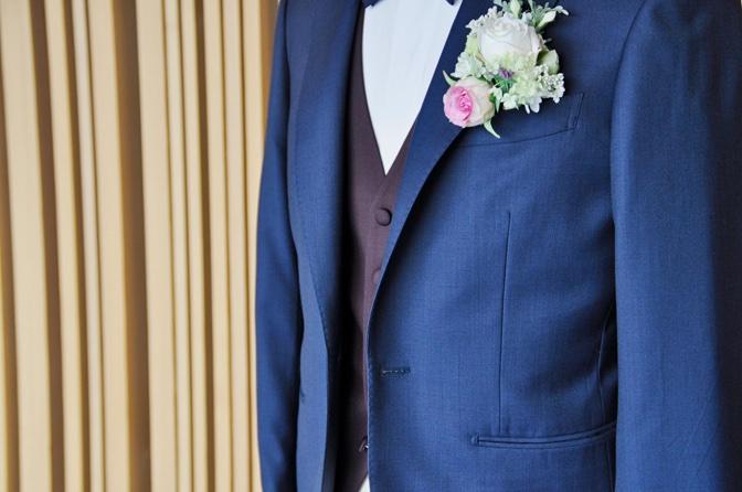 DSC1361 東急ホテル挙式 スーツスタイルDSC1361 東急ホテル挙式 スーツスタイル 名古屋市のオーダータキシードはSTAIRSへ