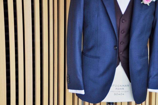 DSC1362 東急ホテル挙式 スーツスタイルDSC1362 東急ホテル挙式 スーツスタイル 名古屋市のオーダータキシードはSTAIRSへ