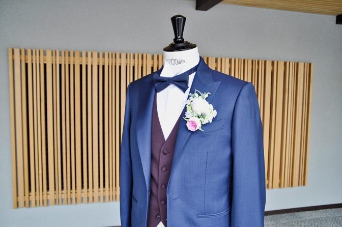 DSC1363 東急ホテル挙式 スーツスタイルDSC1363 東急ホテル挙式 スーツスタイル 名古屋市のオーダータキシードはSTAIRSへ
