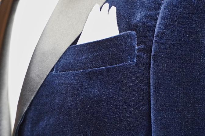 DSC03355 ネイビーベルベットタキシードジャケット DSC03355 ネイビーベルベットタキシードジャケット  名古屋市のオーダータキシードはSTAIRSへ